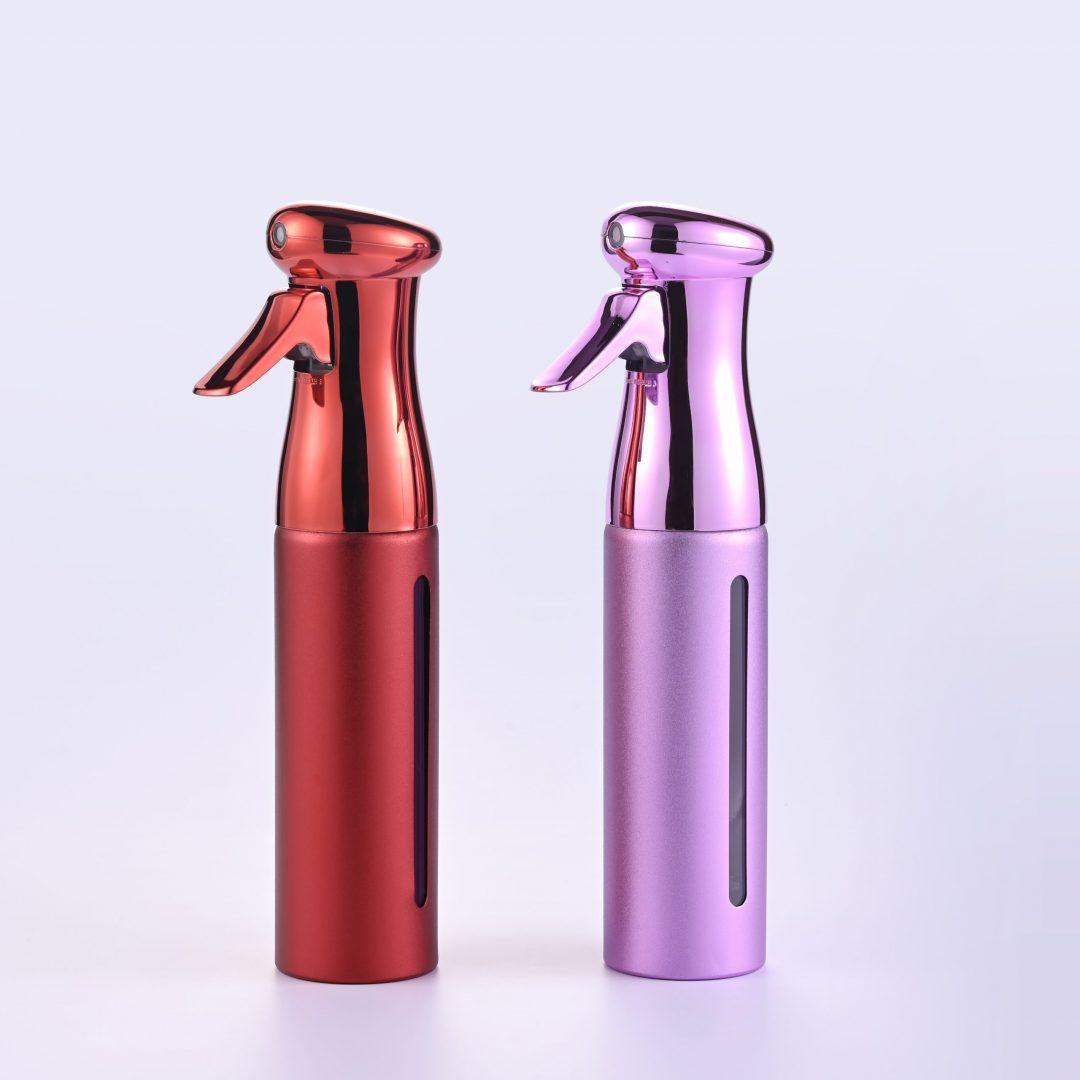 Aluminum Continuous Mist Sprayer Bottle
