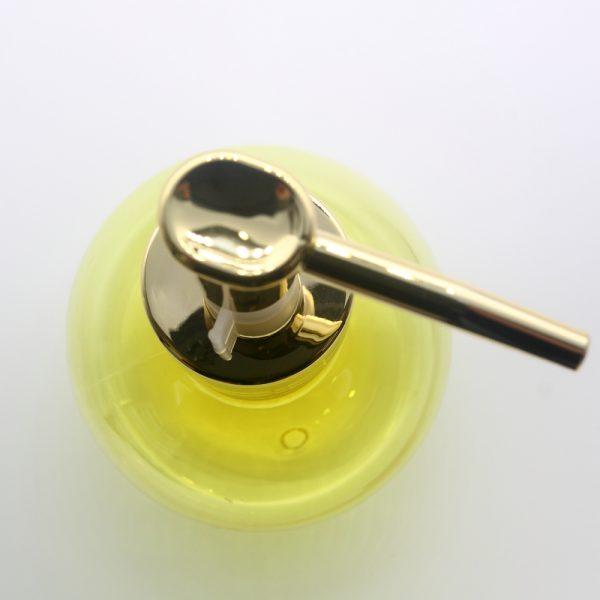 gold lotion pump