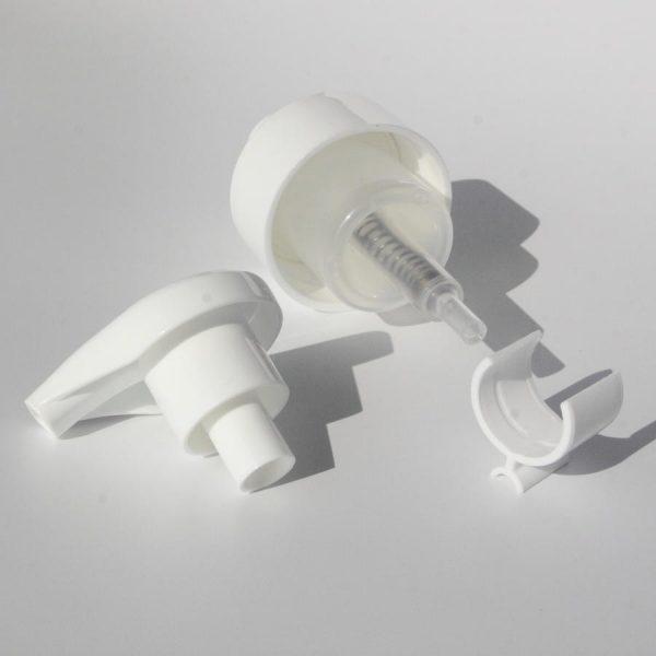 the side of 43/410 foaming soap dispenser