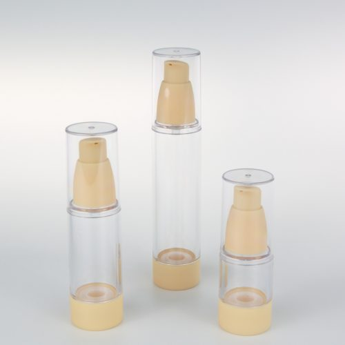 15ml 30ml 50ml empty airless bottle made in China