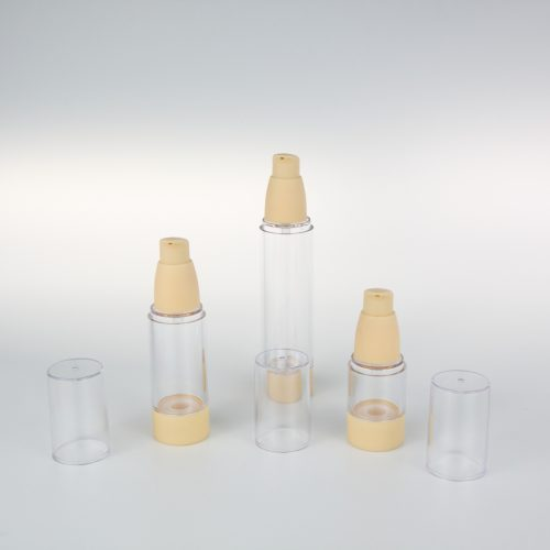 15ml 30ml 50ml empty airless bottles made in China