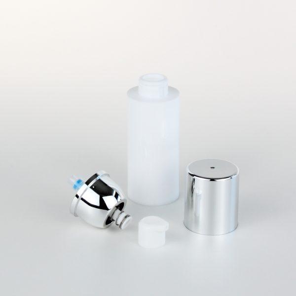 30ml white empty airless bottle