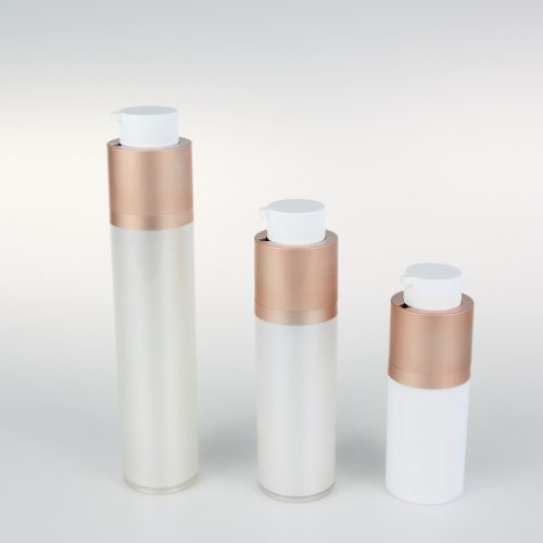 up and down lock airless bottle