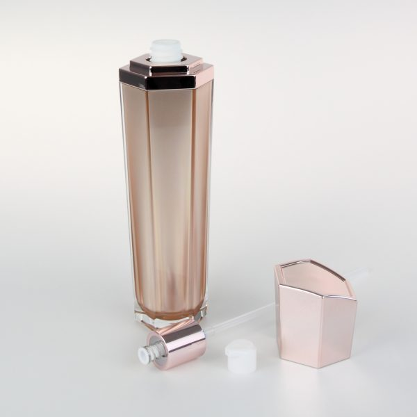 120ml empty acrylic cosmetic bottles