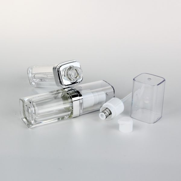 15ml 20ml transparent acrylic cosmetic bottles