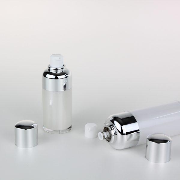 15ml 30ml airless pump bottles cosmetic