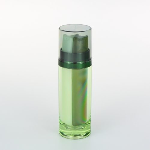 Double tube cosmetic bottles