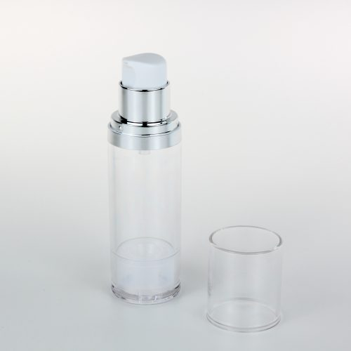 PETG empty airless bottles