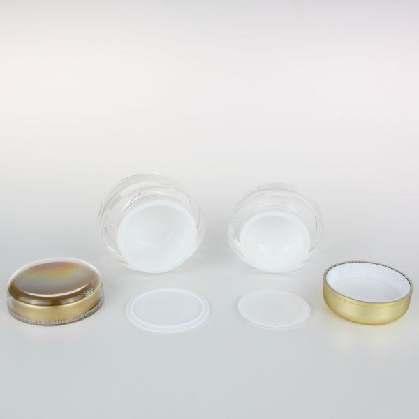 50ml 30ml cosmetic acrylic jar