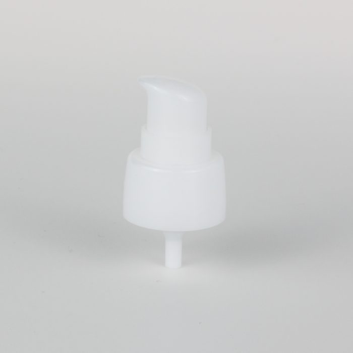 white hand cream pumps dispenser