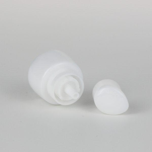white hand cream pumps dispenser 24/410