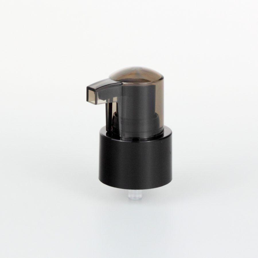 black treatment pumps dispenser 24mm