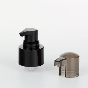 black treatment pumps dispenser