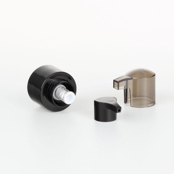 24mm black treatment pumps dispenser