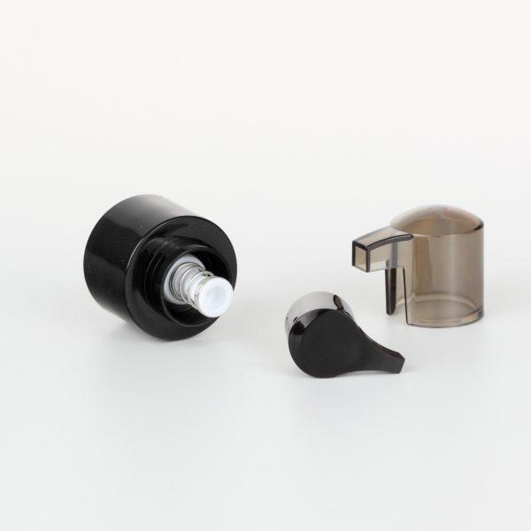 24/410 black treatment pumps dispenser