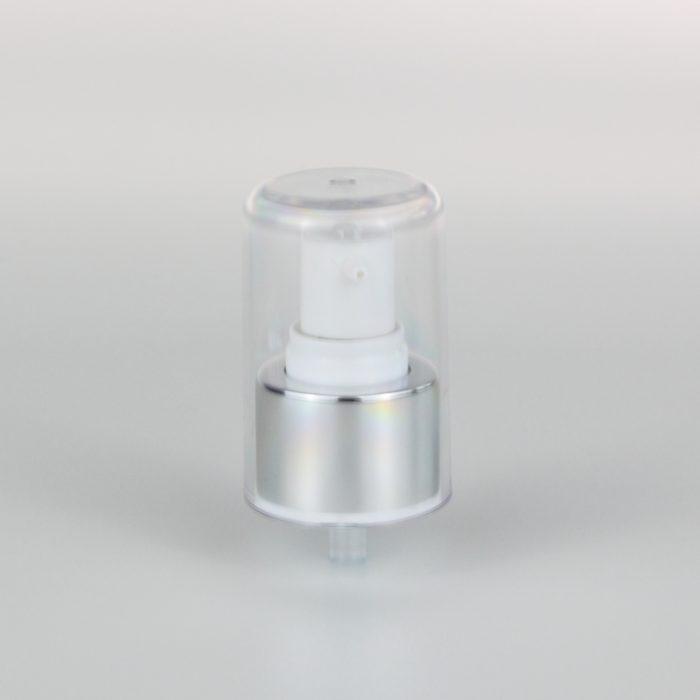 white aluminum treatment pumps 24mm