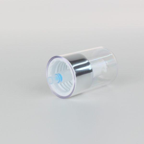 white aluminum treatment pumps 24/410