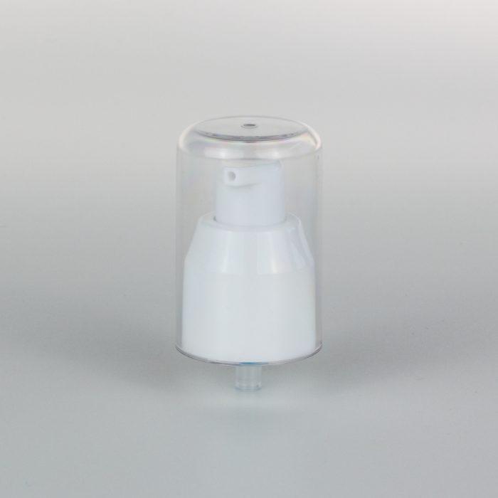 white cream pump 24mm