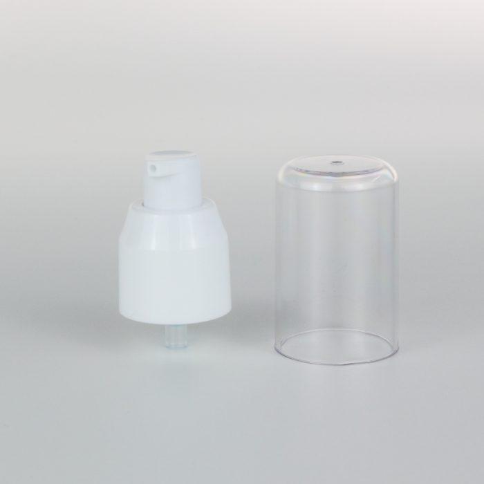 white cream pump