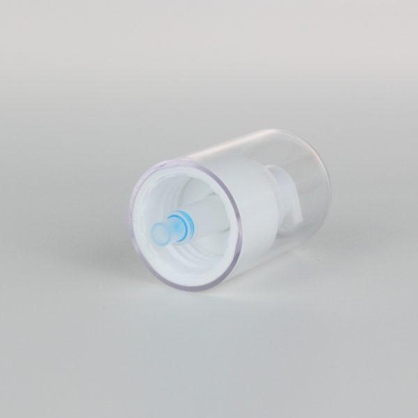 white cream pump 24/410