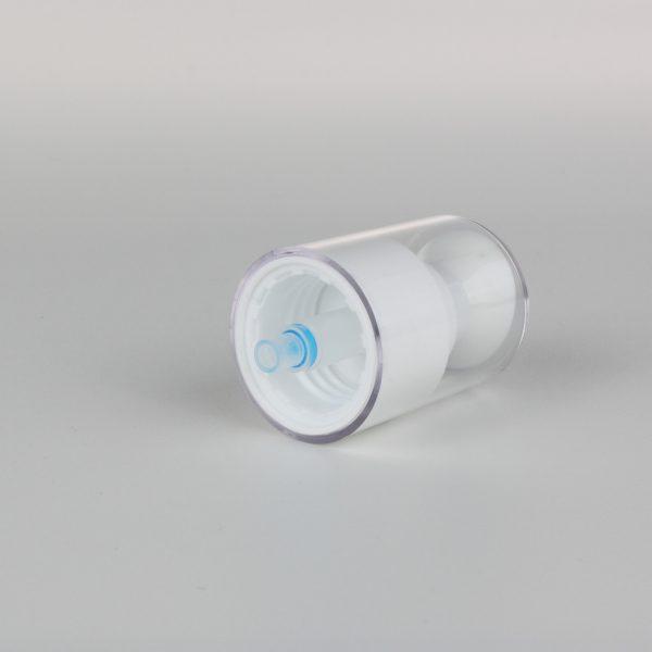 white cream pumps dispenser 24/410