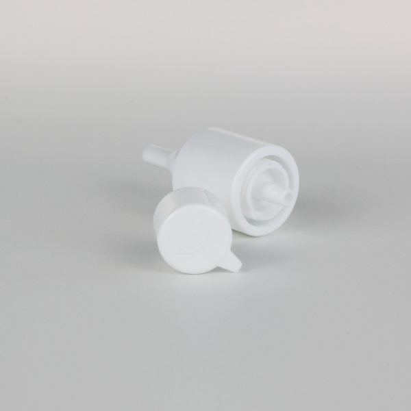 white treatment pumps 24/410