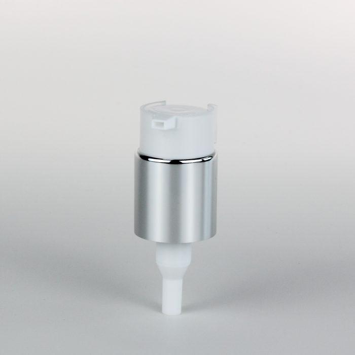 treatment pumps with clip