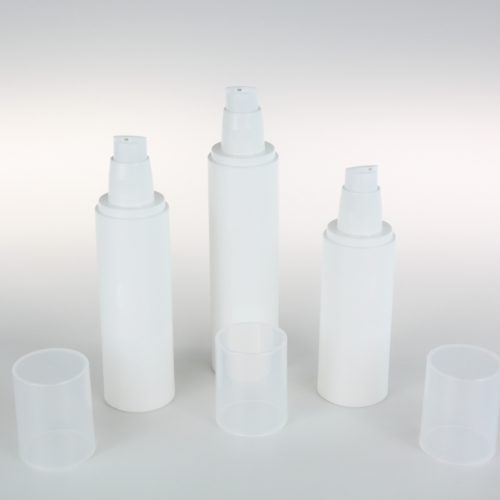 80ml 100ml 120ml airless bottle packaging
