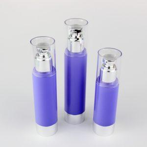 80ml 100ml 120ml airless round bottles
