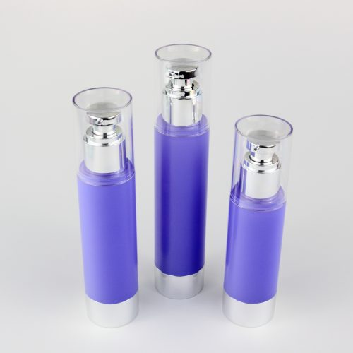 80ml 100ml 120ml airless round bottles
