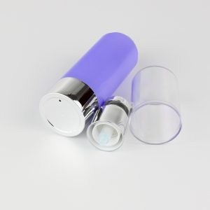 120ml airless round bottles