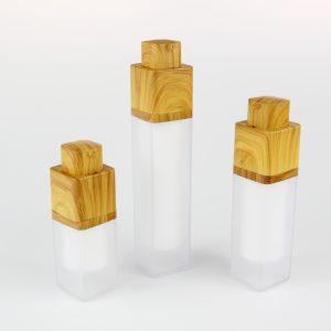 15ml 30ml 50ml bamboo airless bottle