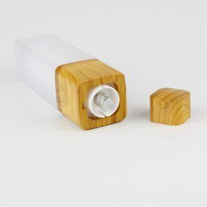 30ml bamboo airless bottle