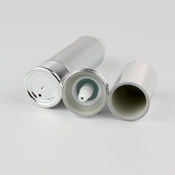 30ml airless bottle silver