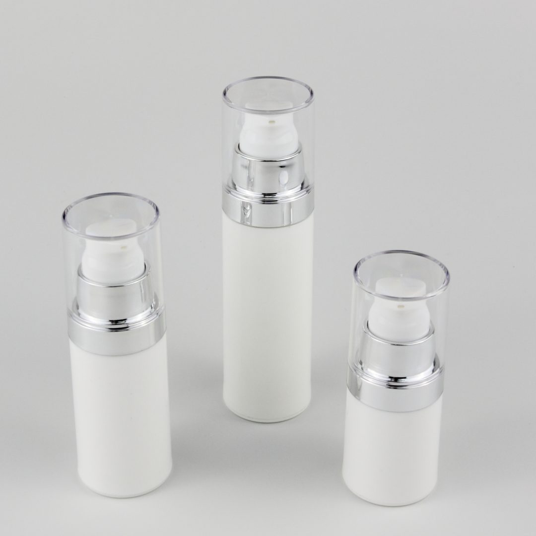 15ml 30ml 50ml airless bottle with pump wholesales