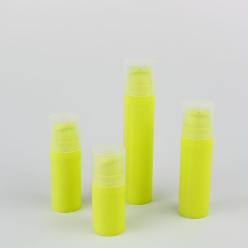 5ml 10ml 15ml 20ml airless bottle travel manufacturer
